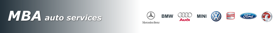 MBA Auto Services specialising in Mercedes, BMW and Audi